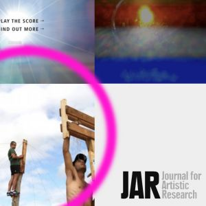 """Journal for Artistic Research publishes Usoa Fullaondo´s  """"What can a process do? A passage from ritual to rituality"""""""